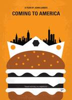 No402 My Coming to America minimal movie poster
