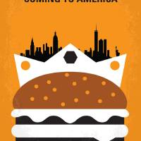 """No402 My Coming to America minimal movie poster"" by Chungkong"