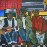 Singin' The Blues Art Prints & Posters by Renie Britenbucher