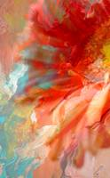 Fluid Flower - Abstract Flower Art