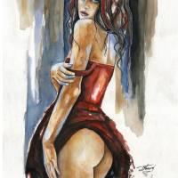Reddish by J Namerow Art Prints & Posters by Jorge Namerow