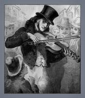 Violinist And Composer Paganini