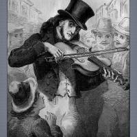 Violinist And Composer Paganini Art Prints & Posters by Phil Cardamone
