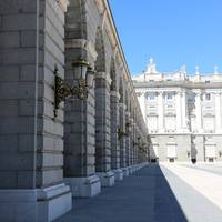 Madrid Palace Perspective