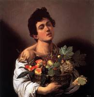 Michelangelo Merisi da Caravaggio - Boy with a Bas