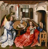 Robert Campin, The Merode Altarpiece, c. 1427-1432