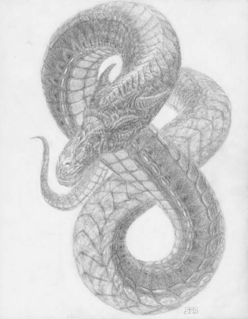 "Stunning ""Basilisk"" Drawings And Illustrations For Sale On ..."