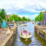"""Waterways of Amsterdam"" by pravine"