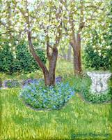 My Pear Trees in Spring