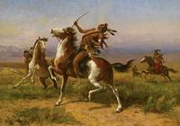 WILLIAM DE LA MONTAGNE CARY - WARRING TRIBES