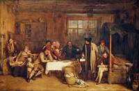 Sir David Wilkie - Distraining for Rent 1815