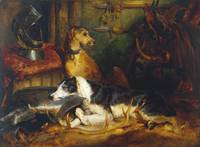 Sir Edwin Henry Landseer A Scene at Abbotsford exh