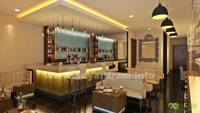 3D Bar Interior Design