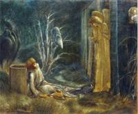 The Dream of Lancelot by Sir Edward Burne-Jones