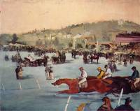 The Races in the Bois de Boulogne - Edouard Manet