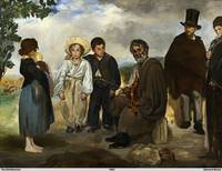 The Old Musician by Édouard Manet