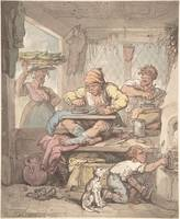The Tailor 1814 by After Thomas Rowlandson