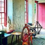 """Spinning Wheel Near Window"" by susansartgallery"