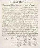 United StatesThe Declaration Of Independence
