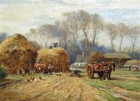William Kay Blacklock - Bringing Home the Hay