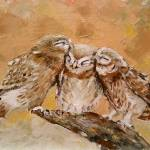 Family love of owls