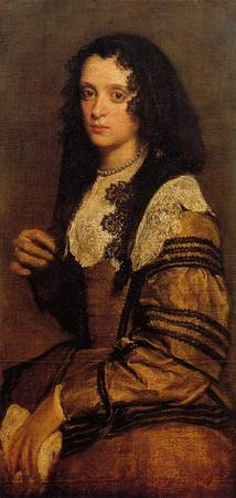 A_Young_Lady by Diego Velázquez