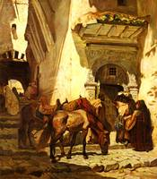 Bridgeman_Frederick_Arthur_Near_The_Kasbah