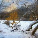 """Winter at Hopkins Pond"" by JohnRivera"