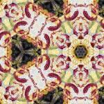 """Marsala Decorative Abstract Majolica 2"" by GinetteCallaway"