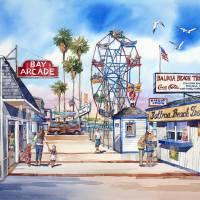 Balboa Fun Zone Art Prints & Posters by Bill Drysdale