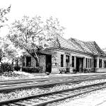 """Hinsdale Train Station"" by marypalmer"
