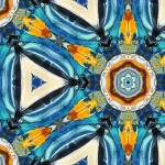 """Portofino Fancy Majolica Tile Pattern Decor"" by GinetteCallaway"