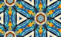 Portofino Fancy Majolica Tile Pattern Decor