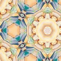 Caramel Cupcakes Majolika Decor Tile Art Prints & Posters by Ginette Callaway
