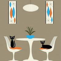 Knoll Table Art Prints & Posters by Donna Mibus