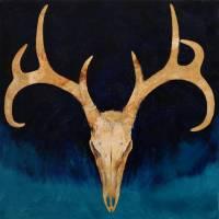 Deer Skull Art Prints & Posters by Michael Creese