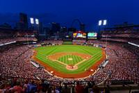 St. Louis Cardinals Busch Stadium Night 1