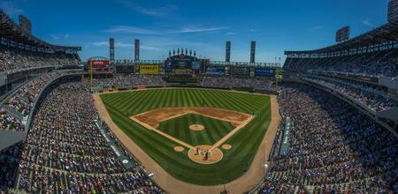 CHICAGO WHITE SOX Panoramic US Cellular Field