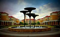TCU Fountains