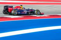Vettel in the RB10, 2014 US Grand Prix