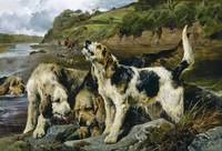 John Sargeant Noble - Otter Hunting