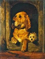 Sir Edwin Henry Landseer - Dignity and Impudence 1
