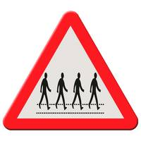 Road sign - Abbey Road ahead.