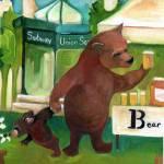 """B for Bear - Alphabet City"" by artchiz"
