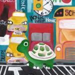 """T for Turtle  -  Alphabet City"" by artchiz"