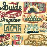 """A Dads Guide to Los Angeles by Dave Douglass"" by TheyDrawandCook"