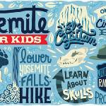 """Yosemite for Kids by Dave Douglass"" by TheyDrawandCook"
