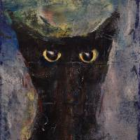 """Ninja Cat"" by Michael Creese"