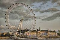 Twilight at the London Eye