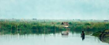 Early Morning-Inle Lake